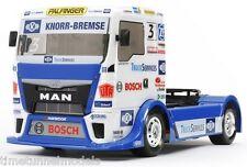 Tamiya 58632 Team Hahn Racing MAN TGS Truck -  DEAL BUNDLE with STEERWHEEL RADIO