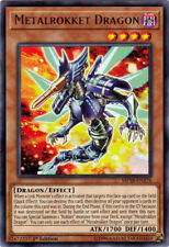 Metalrokket Dragon - MP18-EN176 - Rare - 1st Edition x3 - Near Mint