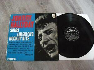 lp 33t (12) anglais bbl 7556 JOHNNY HALLYDAY sings america s rockin hits