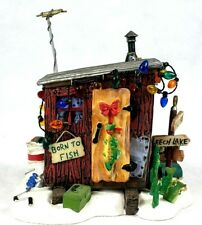 Dept 56 Village Accessories Here Fishy Fishy Ice House 52937