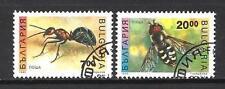 Insectes Bulgarie (34) série complète de 2 timbres oblitérés