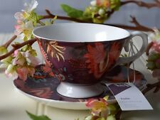 V&A TOILE Alsace FINE CHINA CUP & SAUCER SET