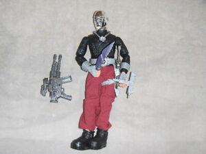 GI JOE 1996 12 INCH Destro FIGURINE & ACCESSORIES