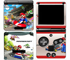 Mario Kart 112 Vinyl Decal Skin Cover Sticker for Game Boy Advance GBA SP