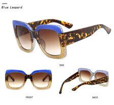New Large Oversized Square Anoushka Bella Women Sunglasses Fashion Thick Frame