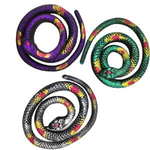 70cm Gross Sticky & Stretchy Snake Novelty Gag Toys Party Bag Fillers Kids Toy