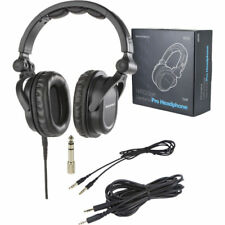 e44ee30b1ac MonoPrice 8323 Premium Hi-Fi Over-the-Ear DJ Style Pro Headphones