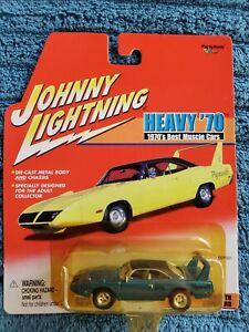 Johnny Lightning  HEAVY '70 1970's Blue Plymouth Superbird NIB! 2001