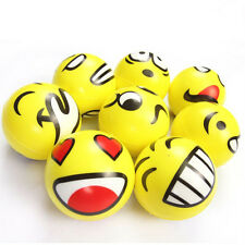 Emoji Emotion Smile Face Anti Stress Reliever Ball ADHD Autism Mood Toy Squeeze