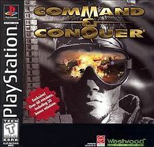 COMMAND & CONQUER (SONY, PLAYSTATION 1) - PS1 -  NO MANUAL