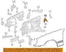 MERCEDES OEM 96-03 E320 Fender-Support Spring 2106260119