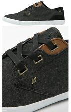 Boxfresh Mens Stern Denim Suede Plimsoll Trainers IND/TAN ON SALE