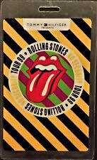 ROLLING STONES - NO SECURITY TOUR - LAMINATED BACKSTAGE PASS - REHEARSALS - RARE