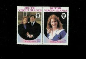 Virgin Islands 537-38 pr. Missing Unit of Value. MNH. Net 49.00