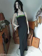 Abendkleid Gr. 36 Gr. 38  schwarz blau grün Pailletten erotisch CLASS Godet
