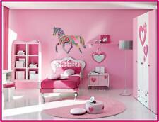 Diseñador Decoración Pared CABALLO DEL ARCO IRIS dormitorio infantil mural