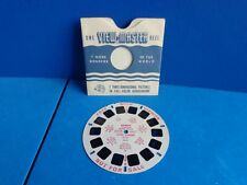 """VINTAGE SAWYER VIEWMASTER REEL """"SCENIC WONDERS USA"""" 1940s/50s"""