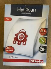 Miele 9917730 HyClean 3D GN Type Microfiber Dust Bags Canister Vacuum Cleaner...