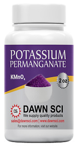 Potassium Permanganate / Powder / 2,4,8,16 Ounces / 98+% Pure / SHIPS FAST