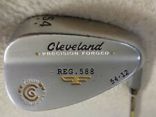 Cleveland 588 Forged Satin 54* Sand Wedge w/Tour Concept Wedge Flex Steel Shaft