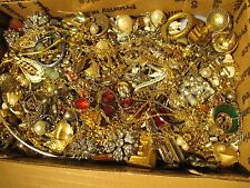 "HUGE VINTAGE TO NOW ESTATE FIND JEWELRY LOT ""JUNK DRAWER"" UNSEARCHED UNTESTED"
