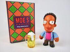 The Simpsons Moe/'s Tavern Kidrobot Vinyl Figure Duffman complet avec boite