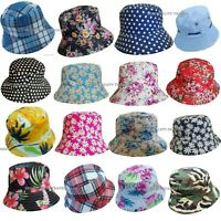 Mens Ladies  Bush Bucket Boonie Hat Festival Fishing Summer Sun Beach Hat Cap