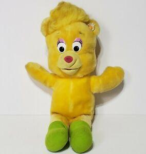 "Vintage Fisher Price Disney Sunni a Gummi Bear 14"" Plush Stuffed Animal Toy"
