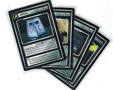 Star Trek CCG Decipher 1st Trouble with Tribbles  : 3x Rare Cards freie Auswahl