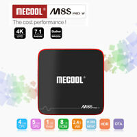 MECOOL M8S PRO W Android 7.1 1.5GHz Quad Core TV Box 2.4G WiFi 100Mbps 1G+8G EU