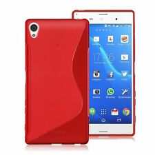 HOUSSE ETUI COQUE SILICONE GEL ROUGE SONY ERICSSON XPERIA Z5