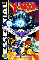 Essential X-Men Vol 8 by Claremont Silvestri Simonson Adams + 2007 TPB Marvel