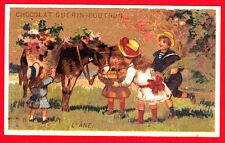 A1380) Chocolat Guerin Boutron L 'Ane