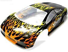 10110 1/10 Scale Drift Touring Car Body Cover Shell RC Black Cut
