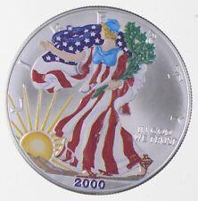 Better Date 2000 American Silver Eagle 1 Troy Oz .999 Fine Silver *166