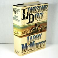 Lonesome Dove by Larry McMurtry 1985 First Edition First Print 1st State EXC