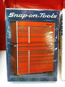 1980 Sealed SNAP-ON TOOLS PARTY BOX POKER CHIPS PLAYING CARDS DICE Collectable
