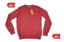 Red Crew Neck Jumpers & Cardigans for Men