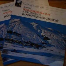 XLP 30102-3 Schubert Winterreise / Hans Hotter / Gerald Moore 2 LP set