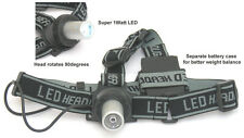 Compact LED Fishing Head Lamp FlashLight w/ Elastic
