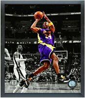 "Kobe Bryant Los Angeles Lakers NBA Spotlight Photo (Size: 12"" x 15"") Framed"