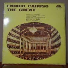 ENRICO CARUSO - THE GREAT - DONIZETTI - MAYERBEER - BIZET - VERDI - FLOTOW