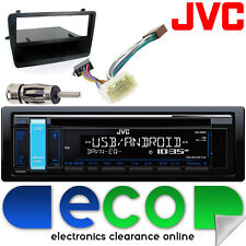 HONDA CIVIC EP3 JVC CD MP3 USB AUX IPOD CAR radio stereo nero Facia Kit di montaggio