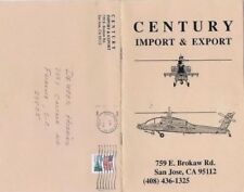 1990 Century Import & Export Price List & Catalog