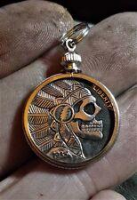Coalburn classic Hobo Nickel  OHNS Grateful Dead bolted chief skull pendant
