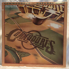 Vintage 1978 Commodores Natural High Motown Vinyl LP 33RPM M7-902R1 VG