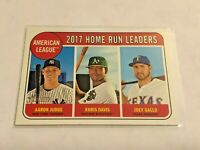 2018 Topps Heritage Baseball HR Leaders - Aaron Judge - New York Yankees