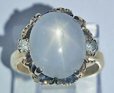 Star Sapphire and Diamond Vintage 14kt yellow gold ring, estimated retail $2100