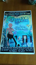 HARVEY BAINBRIDGE (Hawkwind) + MR. QUIMBY'S BEARD USA 2000 Tour Poster+Spaceseed