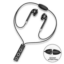 Neckband Magnetic Bluetooth Headphone Wireless Sport Headset Earphone Earbuds